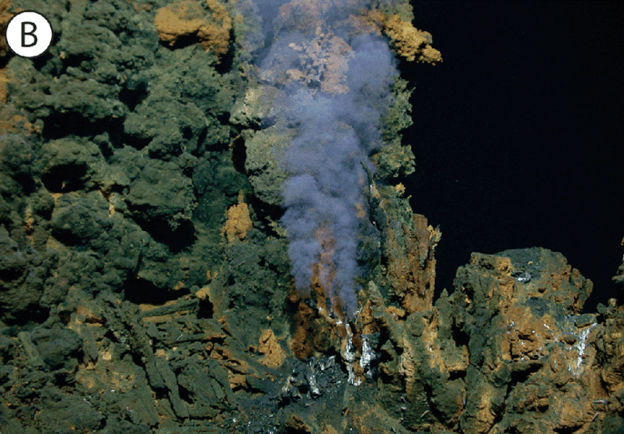 Mid ocean ridge blue habitats by charles fisher woods hole oceanographic institute of a vent plume at the mariner vent field on the valu fa ridge near fiji south pacific ocean gumiabroncs Image collections